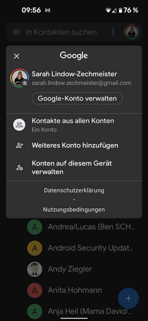 Kontakt 1 | Android-User.de