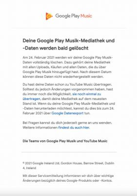 Musik Mail |Android-User.de