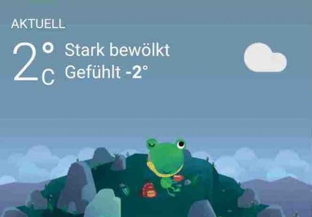 Wetter Froggy Icon |android-User.de