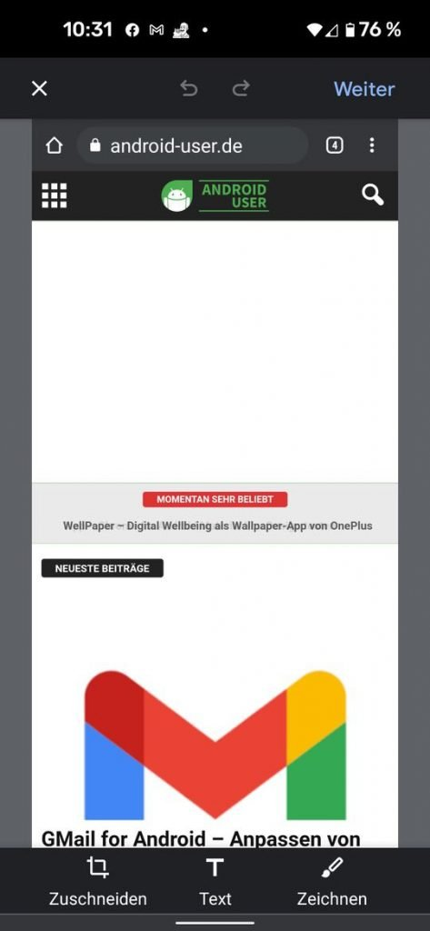 20210530 chrome android share | Android-User.de2