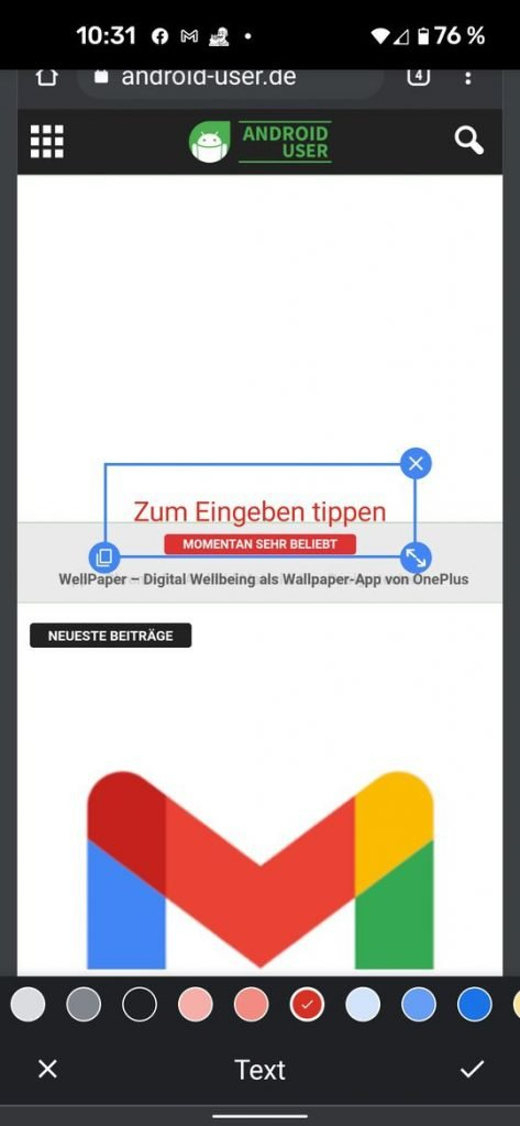 20210530 chrome android share | Android-User.de4