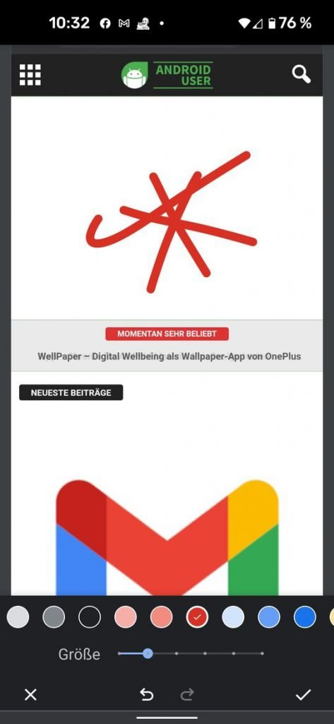 20210530 chrome android share | Android-User.de5