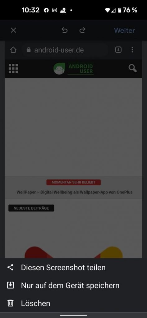 20210530 chrome android share | Android-User.de6