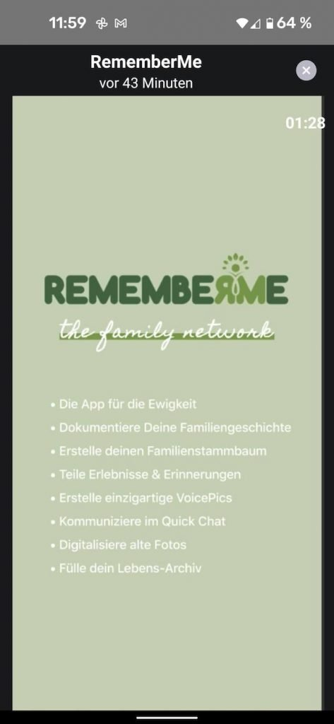 20210705 RememberMe | Android-User.de3