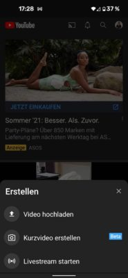 20210717 YouTube Shorts   Android-User.de20