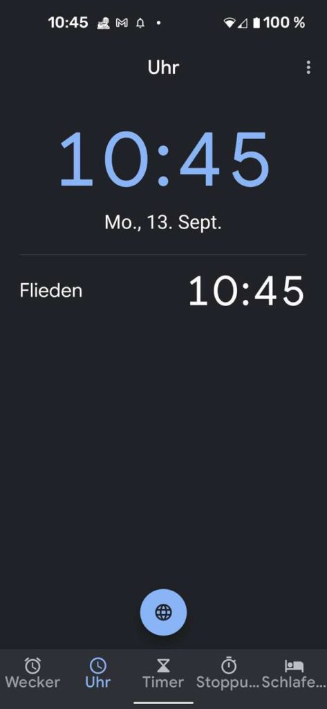 20210913 Material You Clock   Android-User.de3