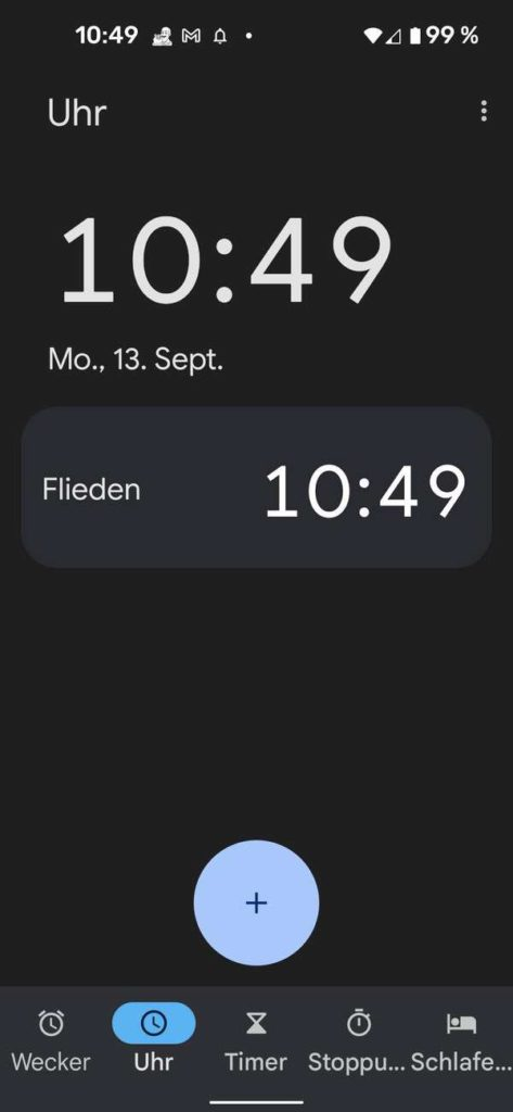 20210913 Material You Clock   Android-User.de8