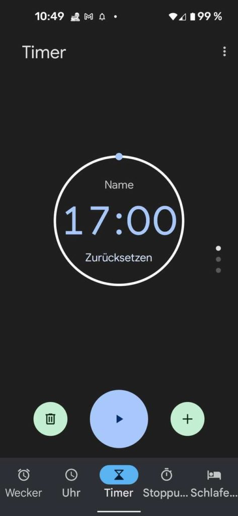 20210913 Material You Clock   Android-User.de9