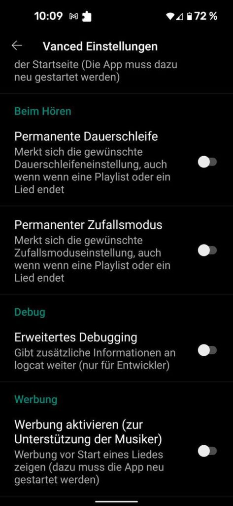 20211006 YouTube Music Vanced   Android-User.de13