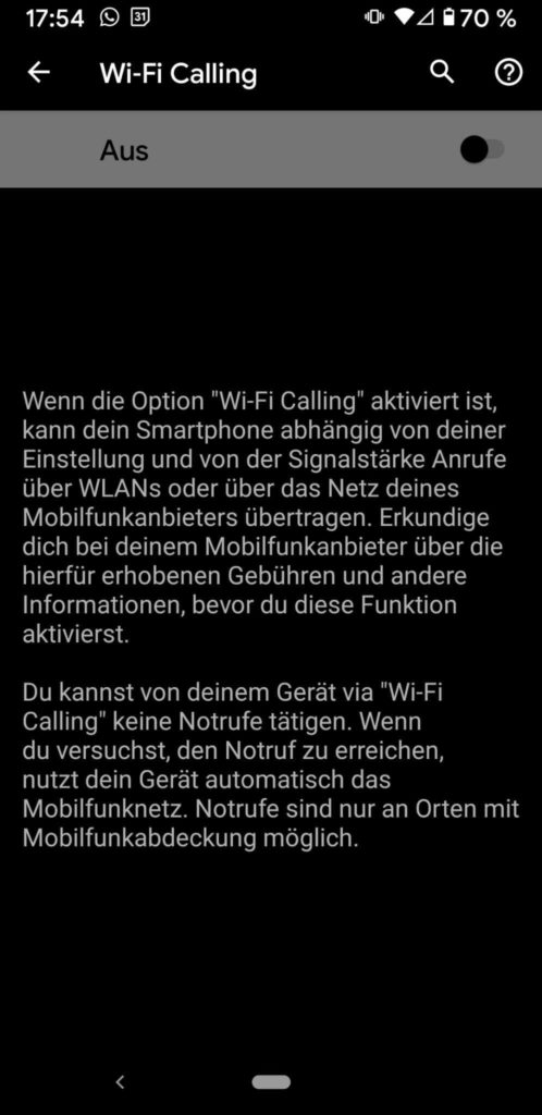 20211010 WiFi Calling   Android-User.de9
